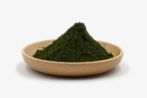 organic chlorella powder