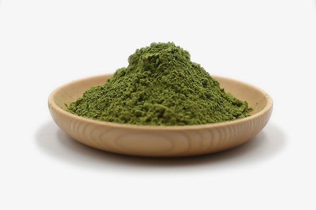 organic matcha powder